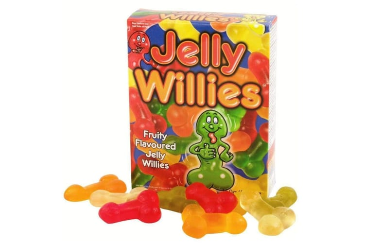 Jelly Willies Delicious Novelty Penis Gummy Candy!