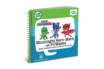 LeapFrog LeapStart Moonlight Hero Math with PJ Masks Book