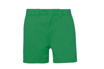 Asquith & Fox Womens/Ladies Classic Fit Shorts (Kelly Green) (L)