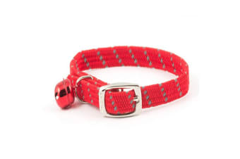 Ancol Softweave Cat Collar (Red)
