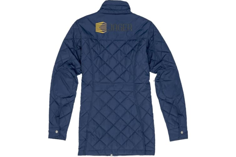 Slazenger Womens/Ladies Stance Insulated Jacket (Navy) (M)