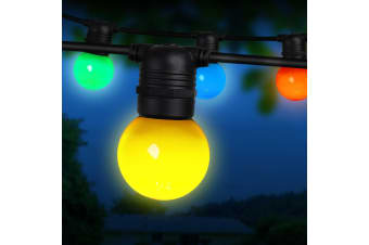 Jingle Jollys 23m LED Festoon String Lights Kits Wedding Party Christmas Outdoor
