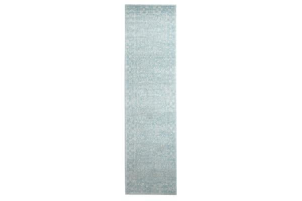 Depth Blue Transitional Rug 400x80cm