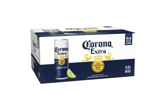 Corona Extra Beer 24  x 355mL Cans