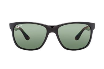 Ray-Ban RB4181 - Gloss Black (Green Polarised lens) Unisex Sunglasses