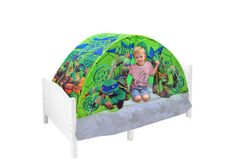 Nickeloden Teenage Mutant Ninja Turtles Tent for Kids Bed/Toddler Cubby House