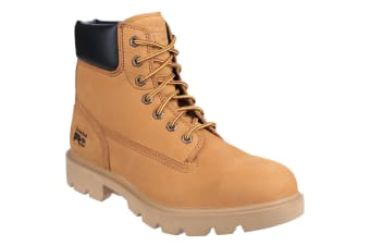 Timberland Pro Mens Sawhorse Lace Up Safety Boots (Wheat) (7 UK)
