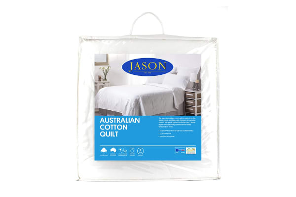 Jason 250GSM Australian Cotton Quilt (Single)