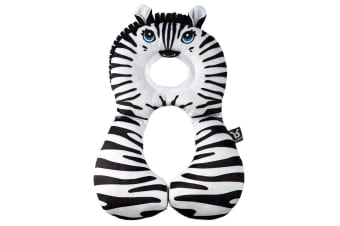Benbat Total Support Headrest Head/Neck Rest Travel Baby 1-4y Car Pillow Zebra