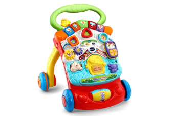 Vtech First Steps Baby Walker (Red)