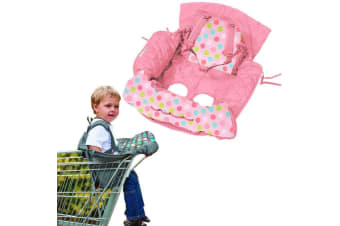 Pink Shopping Trolley/High Chair Cover Clean/Comfortable Baby/Toddler/Child