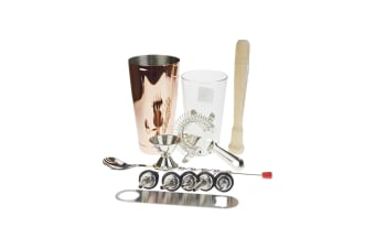 Copper Boston Shaker Set