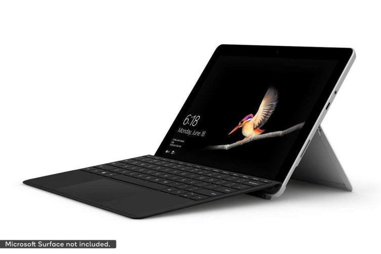 Microsoft Surface Go Signature Type Cover (Black)