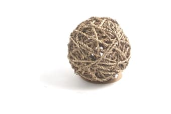 Rosewood Naturals Seagrass Fun Ball (Assorted Colours) - ASRTD (Assorted) (Large)