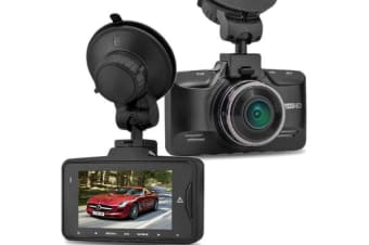 "Full Hd 1296P In Car Dvr Crash Camera Recorder Gps 2.7"" Ips Lcd Gs98C"