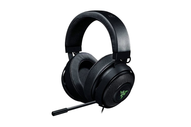 Razer Kraken Tournament Edition Wired Gaming Headset with USB Audio Controller -(Black)