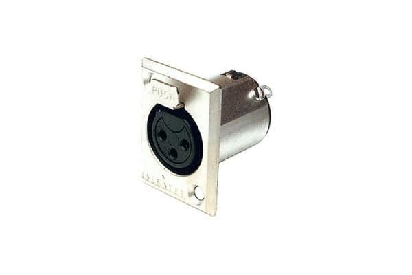 Amphenol 3 Pin Panel Xlr Socket