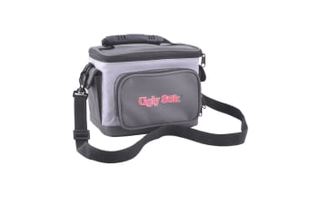 Ugly Stik 6 Can Insulated Cooler Bag with Stubby Cooler and Twin Drink Holders
