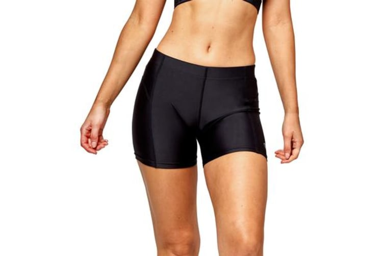 Champion Women's Booty Bike Shorts (Black, Size 8)