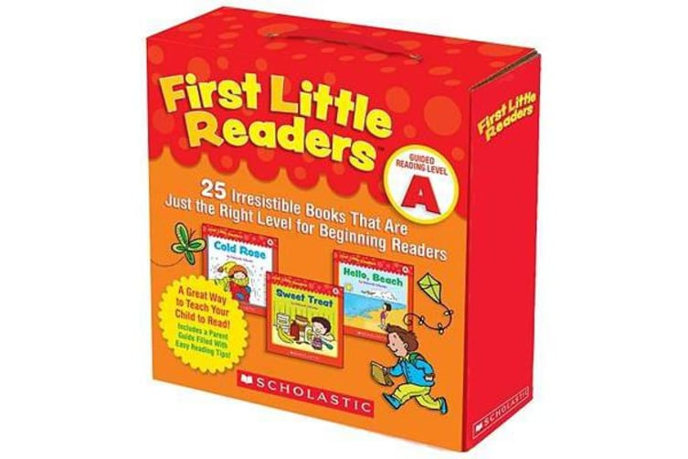 First Little Readers: Guided Reading Level A - 25 Irresistible Books That Are Just the Right Level for Beginning Readers
