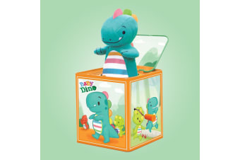 Baby Dino Wind Up Jack in the Box