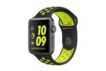 Apple Watch Series 2 (Space Grey, Aluminium, 38mm, Nike Black/Volt)