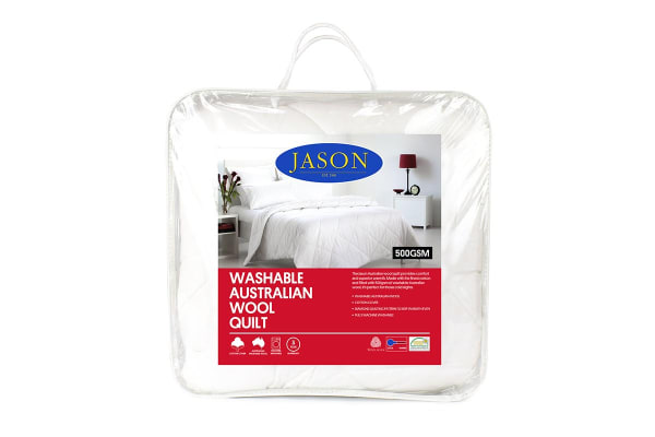 Jason 500GSM Australian Wool Quilt (Single)
