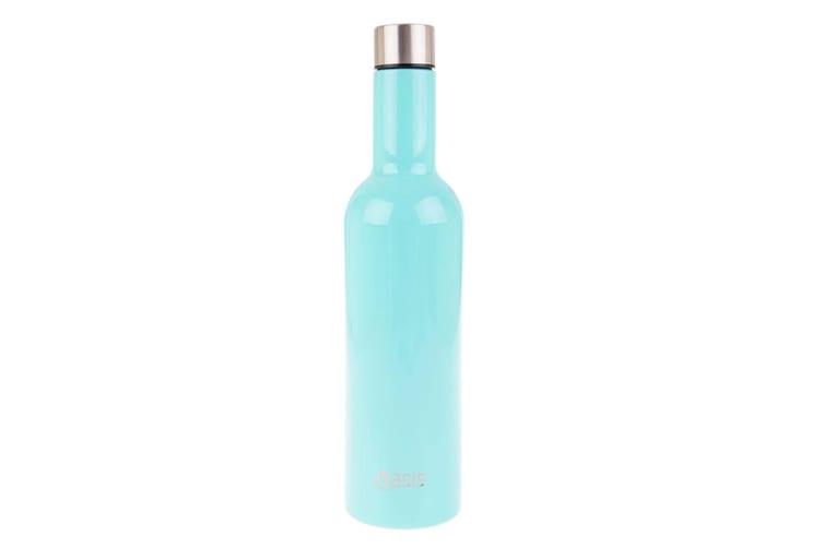 2PK Oasis Stainless Steel 750ml Double Wall Insulated Wine Traveller Spearmint