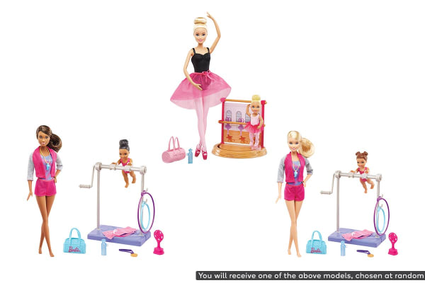 Barbie Sport Themed Playset And Doll (Assorted)