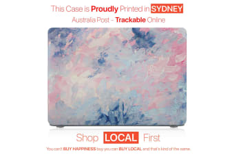 "Hard Case Cover for Apple Macbook Pro 13"" Inch  A1708-Paint Pink"