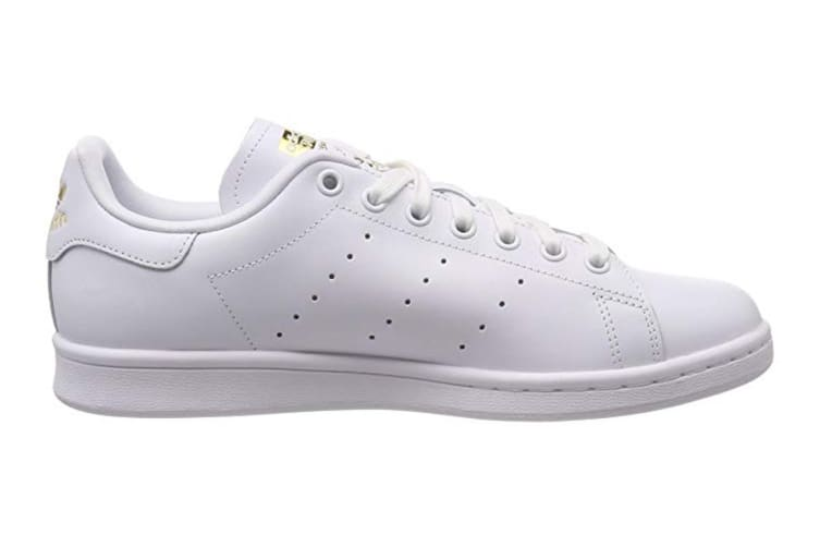 sale retailer 8597b a3a20 Adidas Originals x THE FARM Company Women's Stan Smith Shoes (White/Gold,  Size 5)