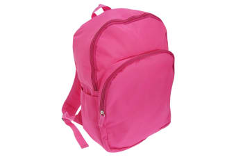 Mucky Fingers Unisex Kids Plain School Backpack/Rucksack (Fushia)