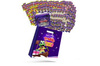 120pc Cadbury Freddo Family Deal Showbag w/Caramello/Strawberry/Milky Freddo
