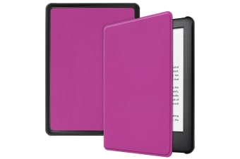 Smart Stand Case For Amazon All New Kindle 2019 10th Gen PU Leather Folio Cover-Purple