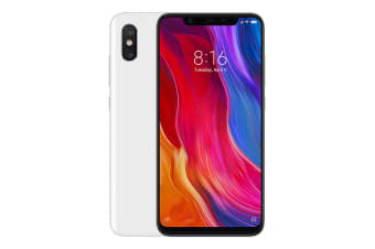 Xiaomi Mi 8 (128GB, White) - Global Model