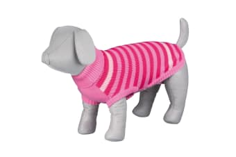 Trixie Barrie Dog Pullover (Pink) (40 cm)