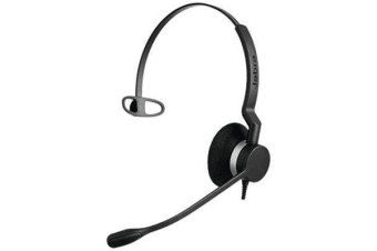 Jabra BIZ 2300 QD Headset - Mono - Quick Disconnect - Wired - Over-the-head - Monaural - Supra-aural