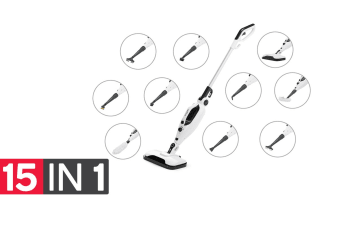 Kogan Premium 15-in-1 Steam Mop