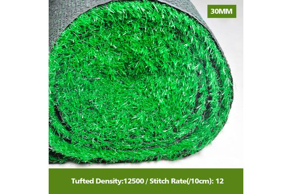 10 SQM Synthetic Turf Artificial Grass BUDGET 30 mm Thickness