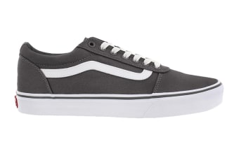 Vans Men's Ward Suede Canvas Shoe (Pewter/True White)