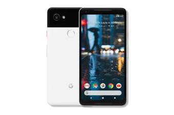 Google Pixel 2 XL (128GB, Black & White) - Pre-owned