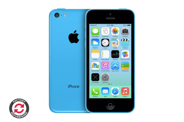 M: Certified Refurbished - iPhone 5, 5S 5C: Cell Phones M: Apple iPhone 5C Blue 16GB Unlocked GSM