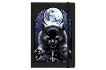 Requiem Collective The Bewitching Hour A5 Hard Cover Notebook (Black) (One Size)