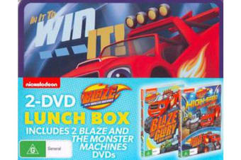 Blaze and the Monster Machines 2-DVD Lunch Box