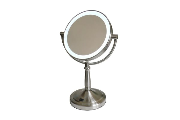HoMedics SPA Reflectives Illuminated LED Beauty Mirror - Silver (M-445LED)
