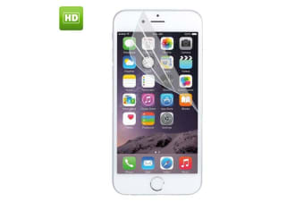 For iPhone 7 Screen Protector Transparent High-Quality Tempered PET Screen Folio