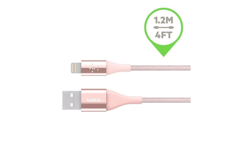 Belkin Duratek Lightning USB Cable Data/Charge for Apple/iPhone 7 Plus 8 X /iPad