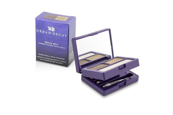 Urban Decay Brow Box: Eyebrow Powder + Wax + Tools - Brown Sugar (-)