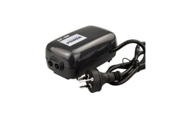 Aquarium Air Pump 2 Outlet 210L/H