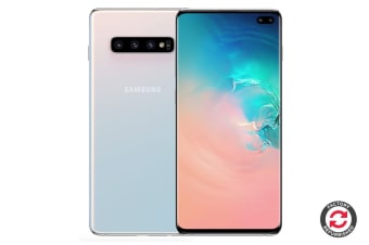 Samsung Galaxy S10+ Refurbished (8GB RAM, 128GB, Prism White) - A Grade